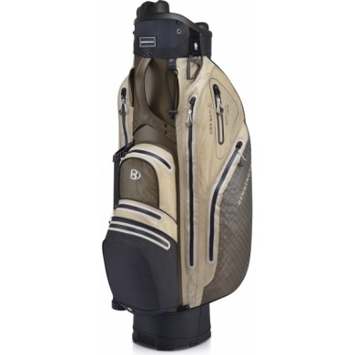 Bennington Cart Bag Sport QO 9 Lite Waterproof Black/Espresso/Sahara