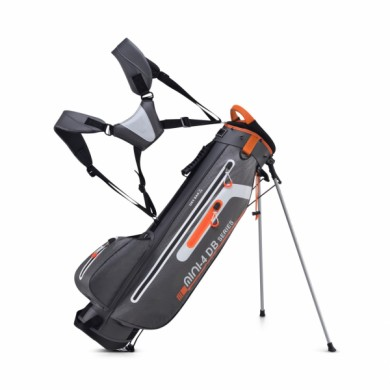 Bennington Stand bag Mini Waterproof Canon Grey/White/Orange