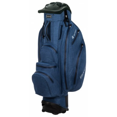 Bennington Cart Bag QO 14 Premium Waterproof Denim Blue Tex