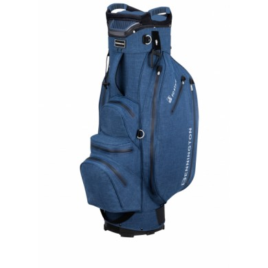 Bennington Cart Bag FO Premium Waterproof Denim Blue Tex