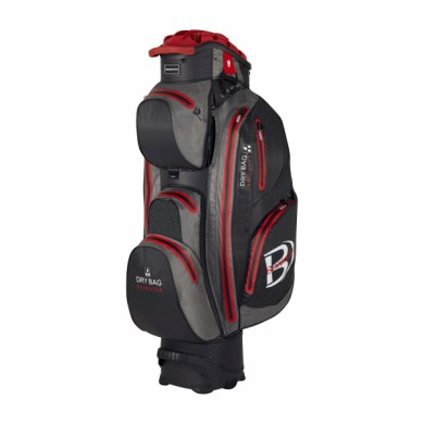 Bennington Cart Bag Sport QO 14 Waterproof Black/Canon Grey/Red