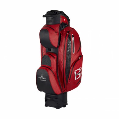 Bennington Cart Bag Sport QO 14 Waterproof Red/Black