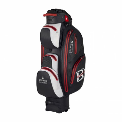 Bennington Cart Bag Sport QO 14 Waterproof Black/White/Red