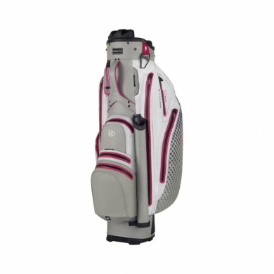 Bennington Cart Bag Sport QO 9 Lite Waterproof Grey/White/Pink