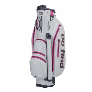 Bennington Cart Bag Dry QO 9 Waterproof Grey/Pink