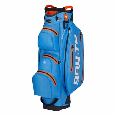 Bennington Cart Bag Dry 14+1 TOUR Waterproof Cobalt/Orange