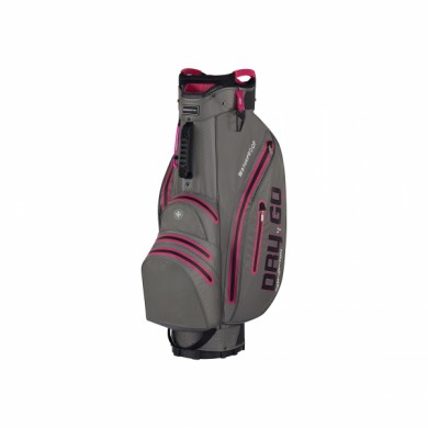 Bennington Cart Bag Dry 14+1 GO Waterproof Canon Grey/Pink