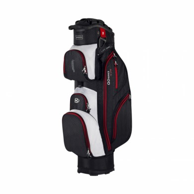 Bennington Cart Bag QO 14 Lite Black/White/Red