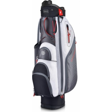 Bennington Cart bag QO9 LITE organizér Black/White/Red