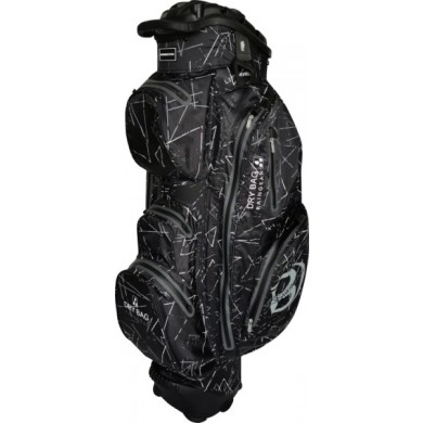 Bennington Cart Bag Sport QO 14 Waterproof Black Flash / Grey