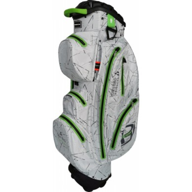 Bennington Cart Bag Sport QO 14 Waterproof Silver Flash / Lime