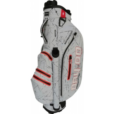 Bennington Cart Bag Dry QO 9 Waterproof Silver Flash / Red