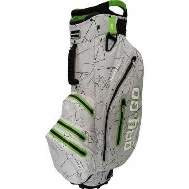 Bennington Cart Bag Dry 14+1 GO Waterproof Silver Flash / Lime