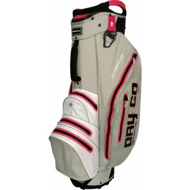 Bennington Cart Bag Dry 14+1 GO Waterproof Grey / White / Pink