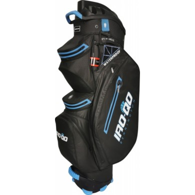 Bennington Cart Bag IRO QO 14  Waterproof Black / Cobalt