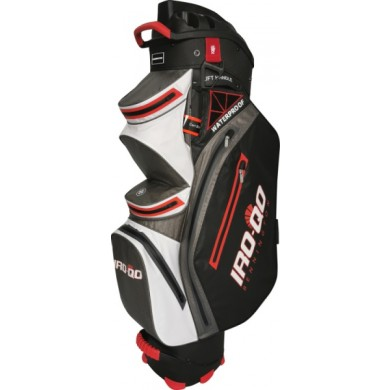 Bennington Cart Bag IRO QO 14  Waterproof Black / White / Gray / Red