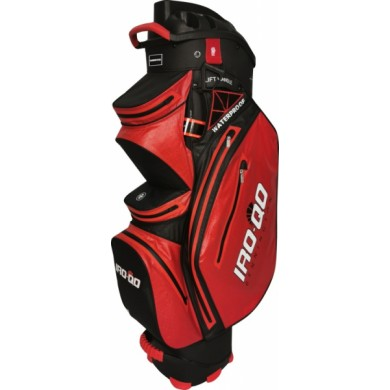 Bennington Cart Bag IRO QO 14  Waterproof Red / Black