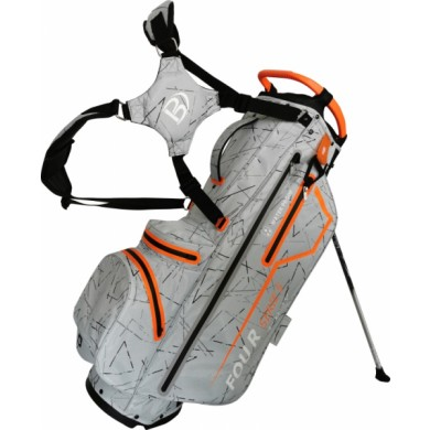 Bennington Stand bag FOUR 4 Waterproof Silver Flash / Orange