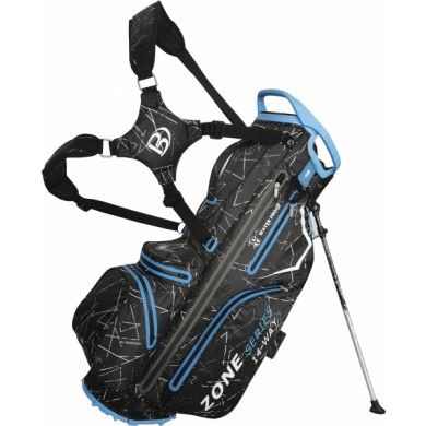 Bennington Stand bag ZONE Waterproof Black Flash / Cobalt