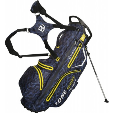 Bennington Stand bag ZONE Waterproof Blue Camo / Yellow