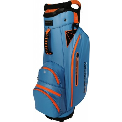 Bennington Cart Bag DOJO 14 Water Resistant Cobalt  / Orange