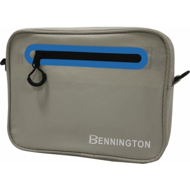 Bennington Pouch bag Light Grey / Cobalt