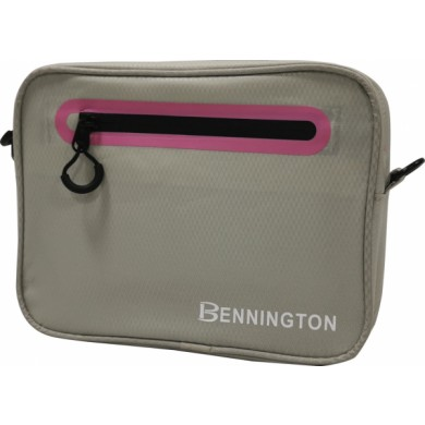Bennington Pouch bag Light Grey / Pink